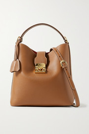 Mark Cross Murphy large textured-leather bucket bag