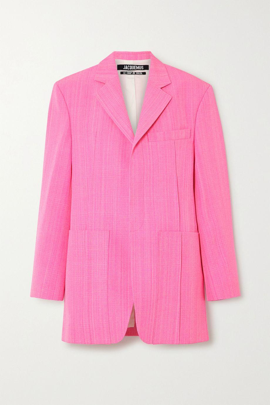 Jacquemus Oversized woven blazer