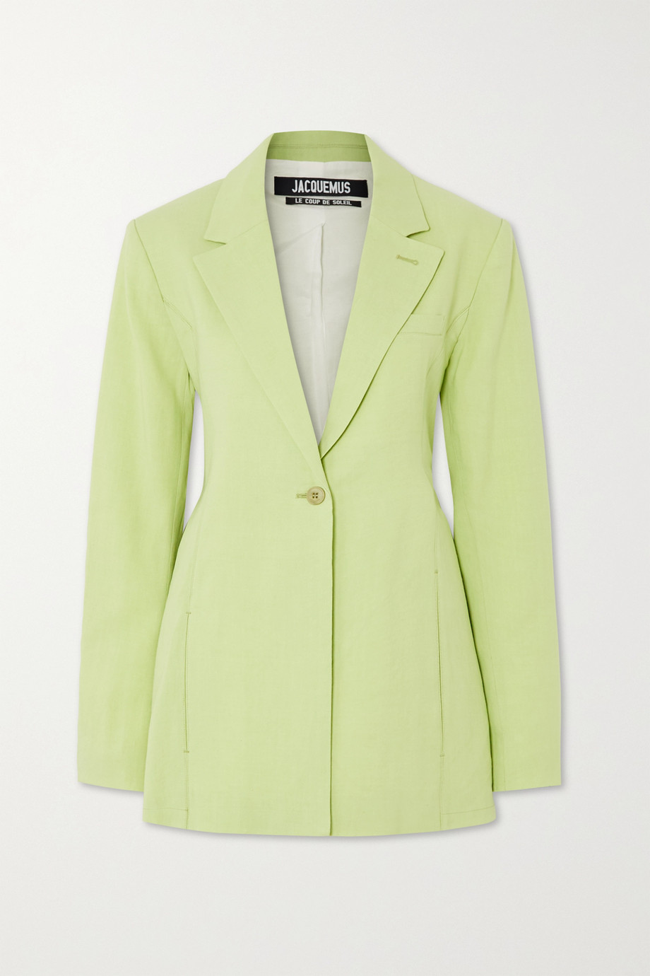 Jacquemus Tablier hemp-blend blazer