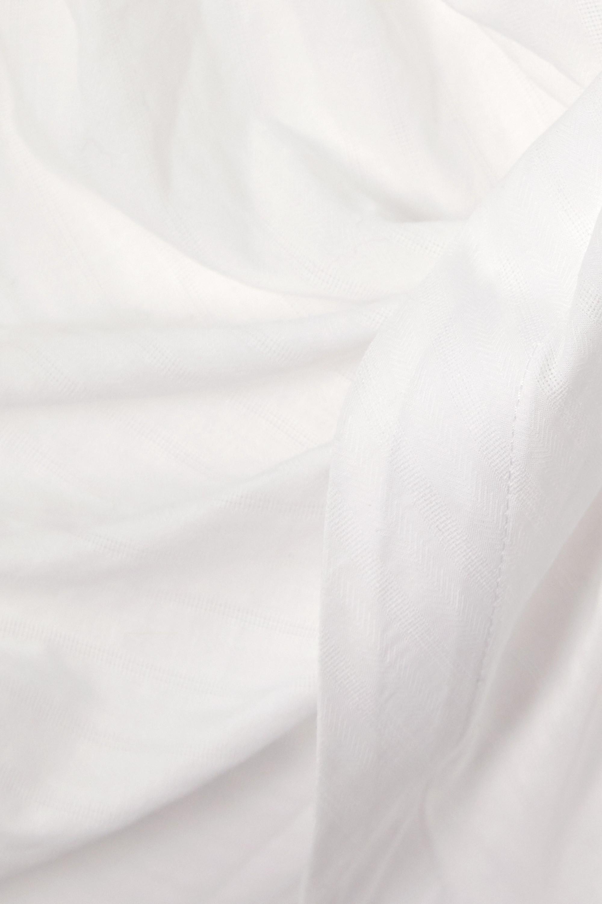 Jacquemus Bahia tie-front striped cotton-jacquard shirt