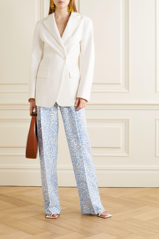 Jacquemus Loya floral-print woven wide-leg pants