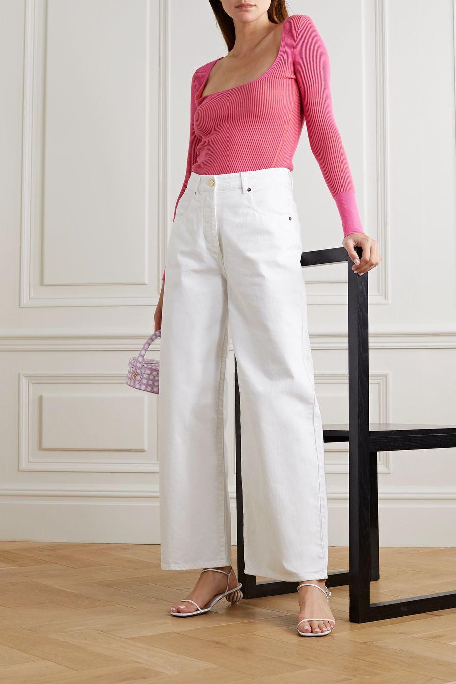 Jacquemus Nîmes high-rise wide-leg jeans