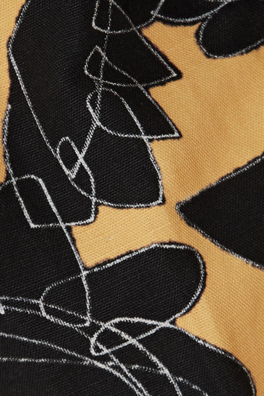 Jacquemus D'Homme 花卉印花亚麻棉质混纺短裤