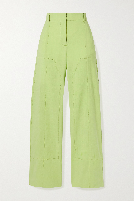 Jacquemus Estero hemp-blend straight-leg pants