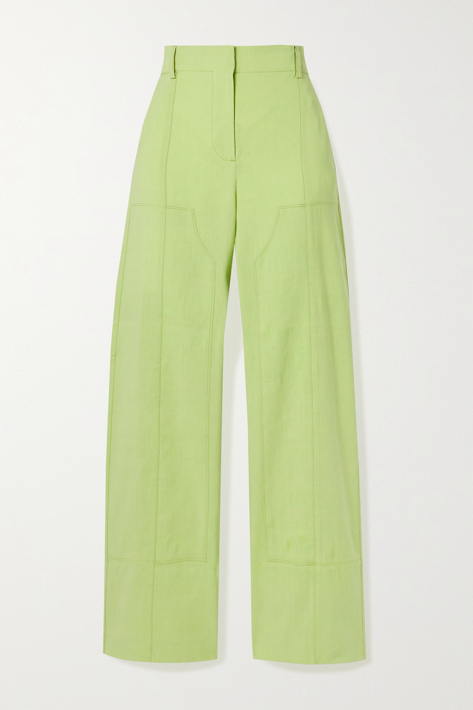 Jacquemus Estero hemp-blend straight-leg pants