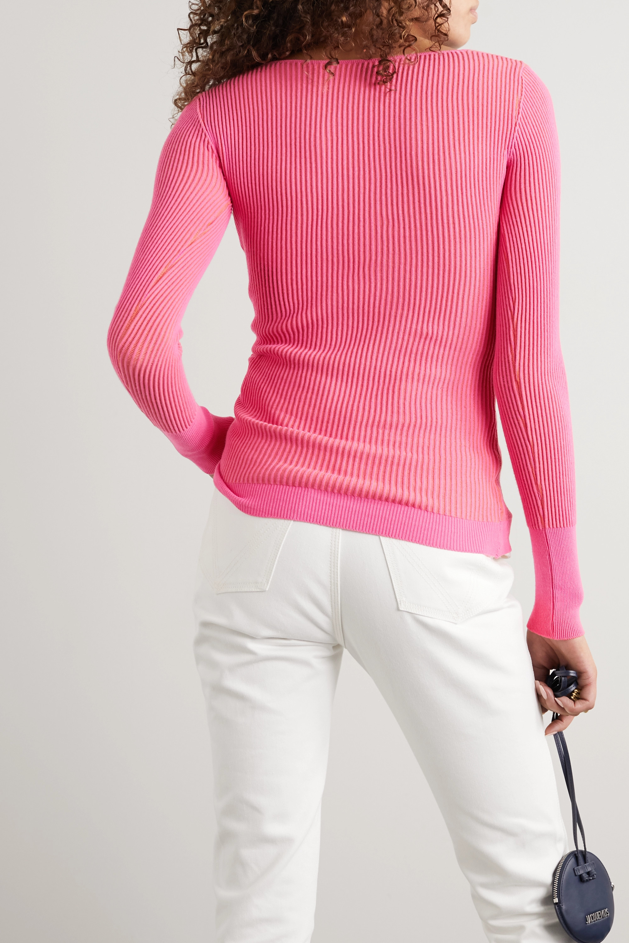 Jacquemus Ribbed-knit sweater