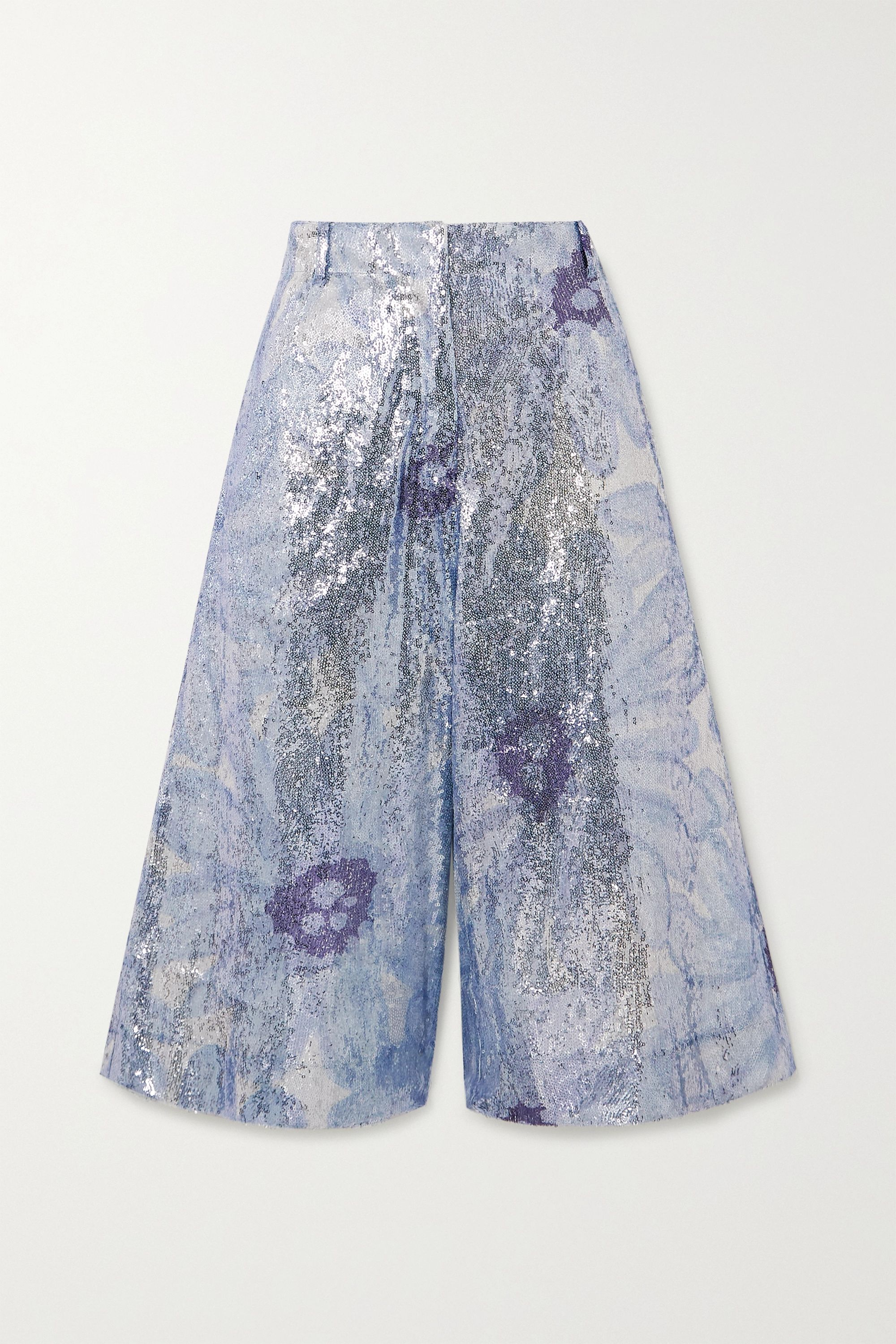 Jacquemus Sequined tulle shorts