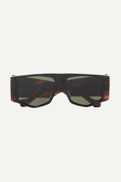 oversized-hexagon-frame-tortoiseshell-acetate-sunglasses by loewe