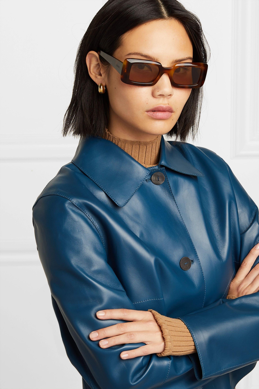 Loewe Square-frame tortoiseshell acetate sunglasses
