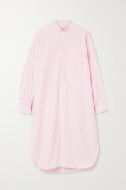 Charvet Cotton-poplin nightdress