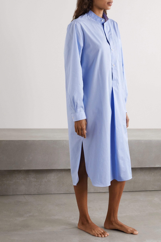 Charvet Cotton-poplin nightdress