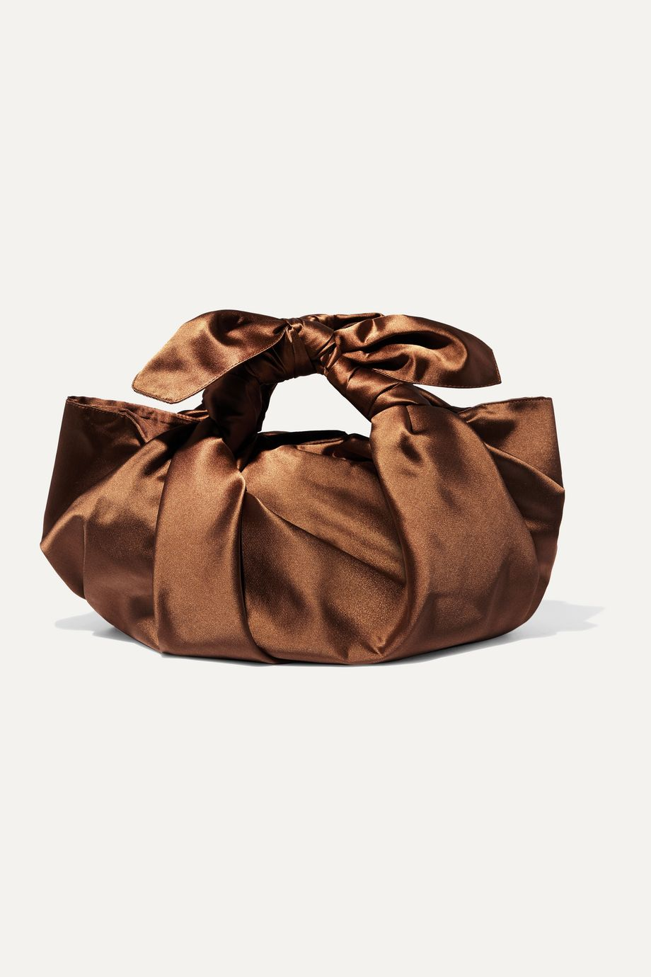 Emily Levine Notto knotted silk-satin tote