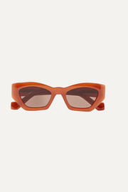 Loewe Hexagon-frame acetate sunglasses