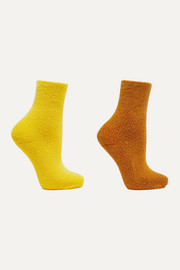 Baserange + NET SUSTAIN set of two cotton-blend socks