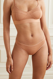 Baserange Bell set of two stretch-bamboo briefs