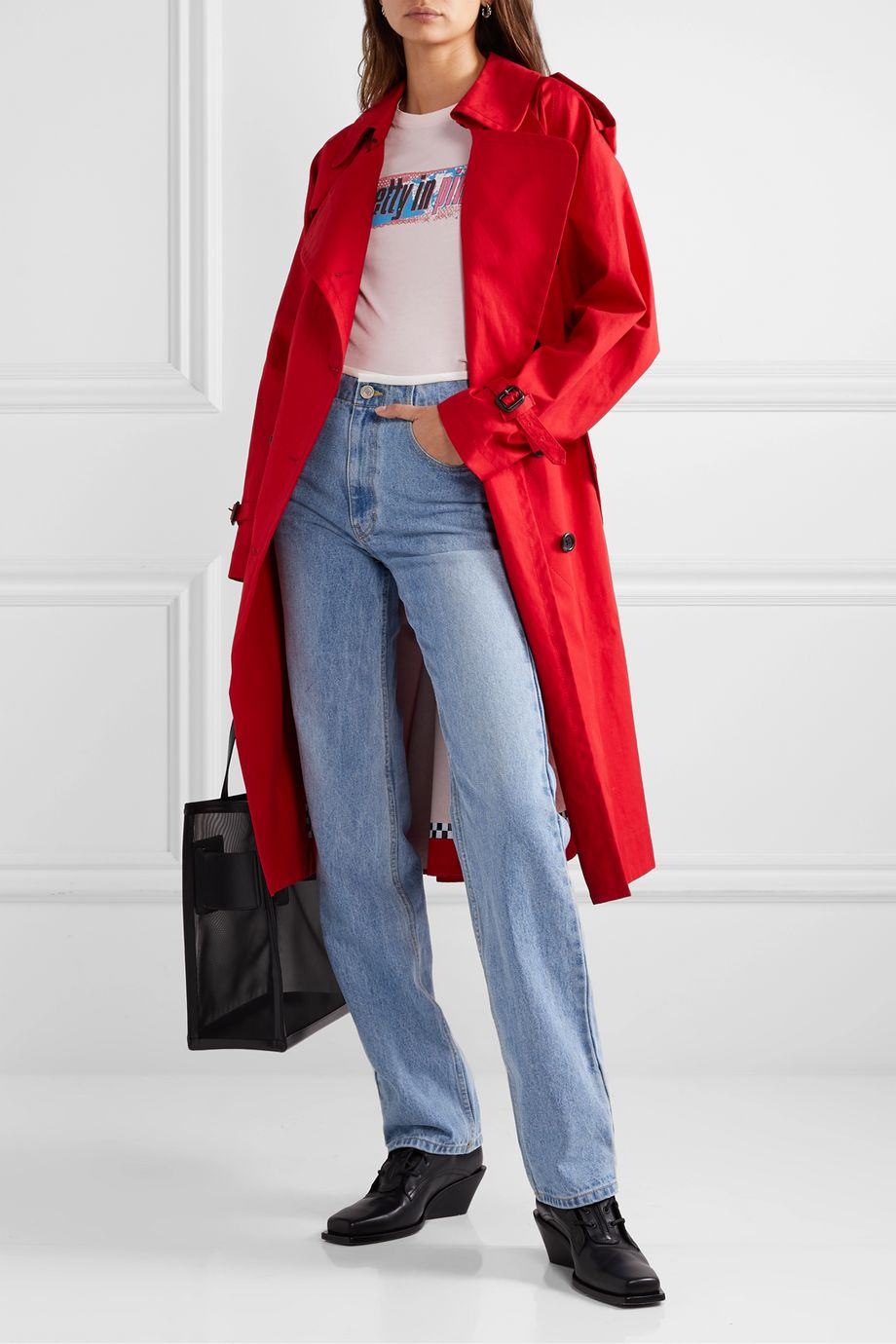 THE Marc Jacobs Cotton-poplin trench coat