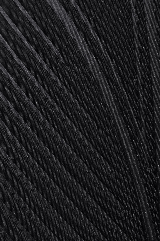 Mugler Textured-scuba shorts