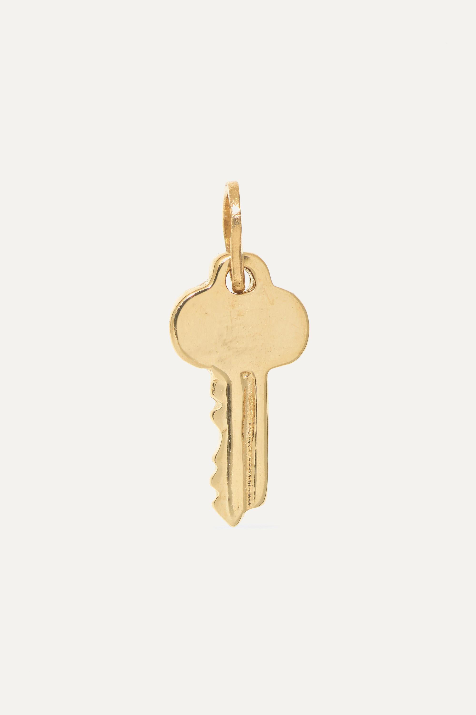 Catbird + NET SUSTAIN Key 14-karat gold charm
