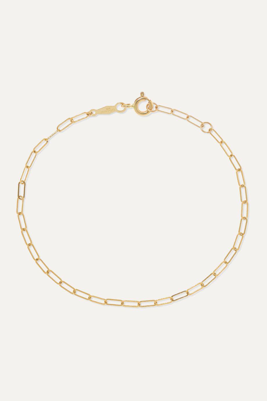 Catbird + NET SUSTAIN 1976 gold bracelet