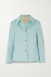 Nina Ricci Checked wool-tweed jacket