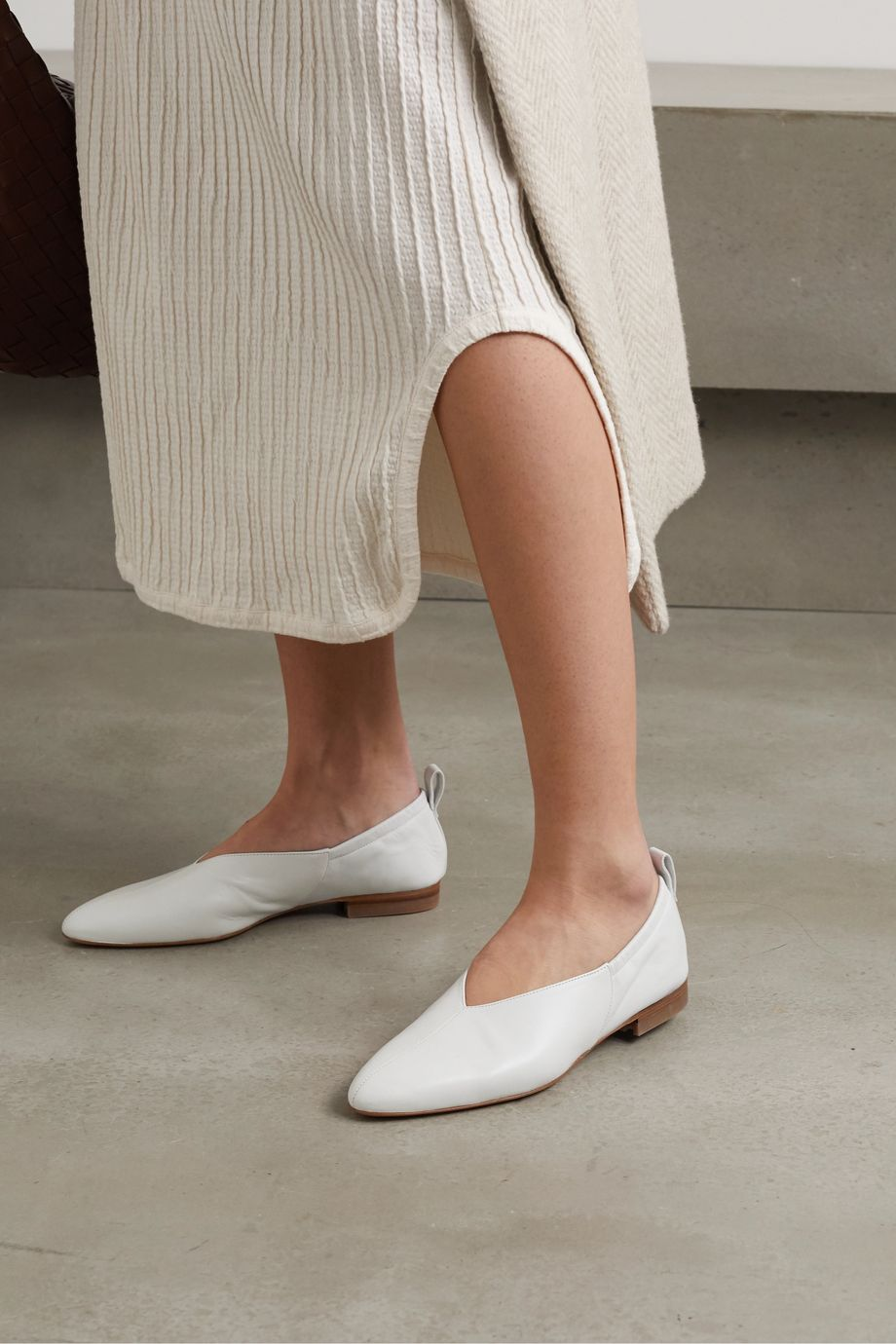 Co Leather ballet flats