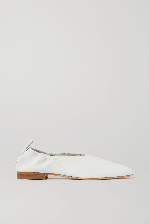 Co 皮革芭蕾平底鞋