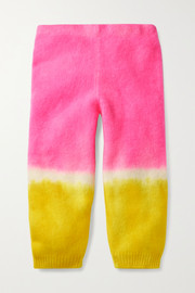 The Elder Statesman Kids Tie-dyed cashmere pants