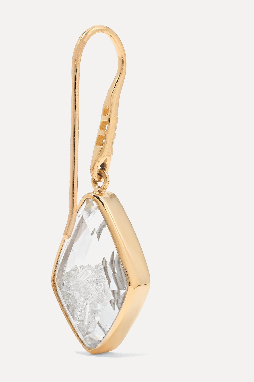 Moritz Glik Ohrringe aus 18 Karat Gold mit Saphiren und Diamanten