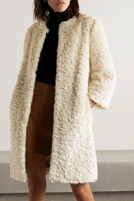 Chilla Shanghai faux fur coat