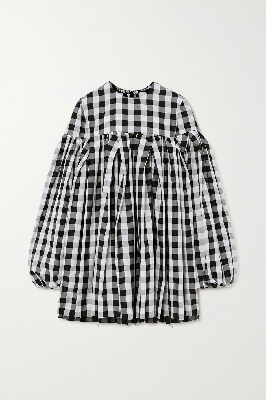 Marques' Almeida Gingham cotton mini dress