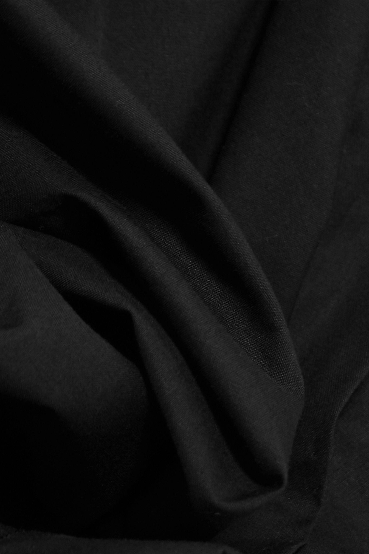 Marques' Almeida One-sleeve draped cotton-poplin shirt