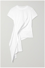 Marques' Almeida Draped cotton-jersey T-shirt