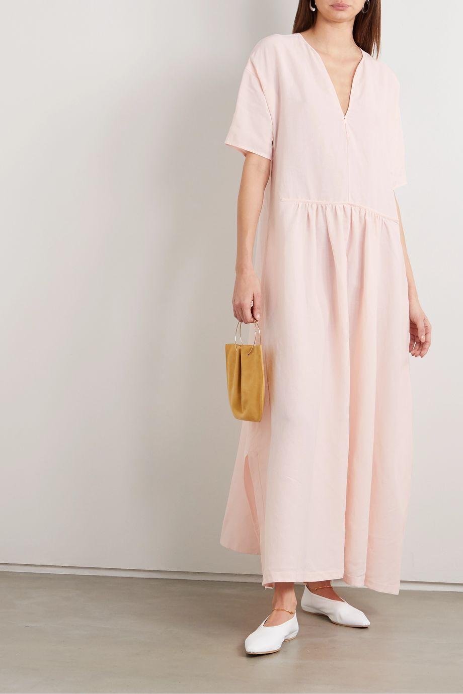Jil Sander Voile maxi dress