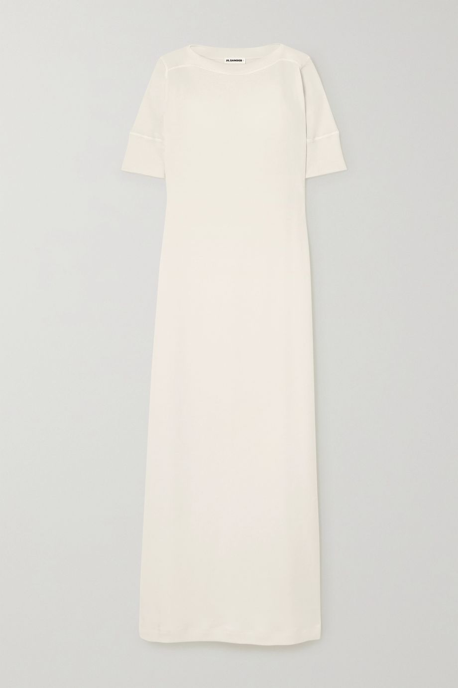 Jil Sander Cotton-jersey maxi dress