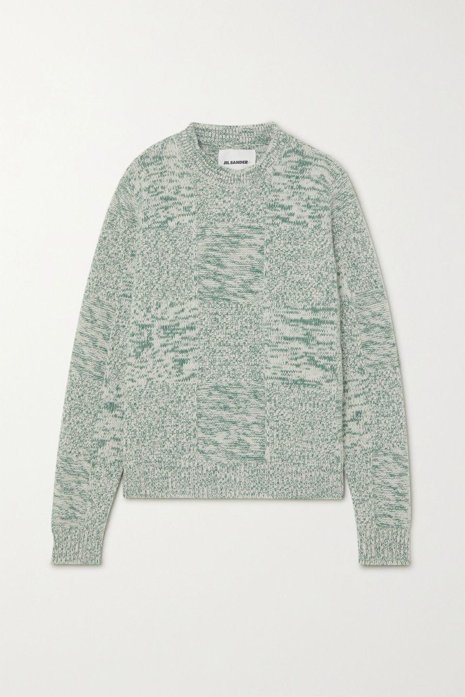 Jil Sander Mélange cashmere sweater