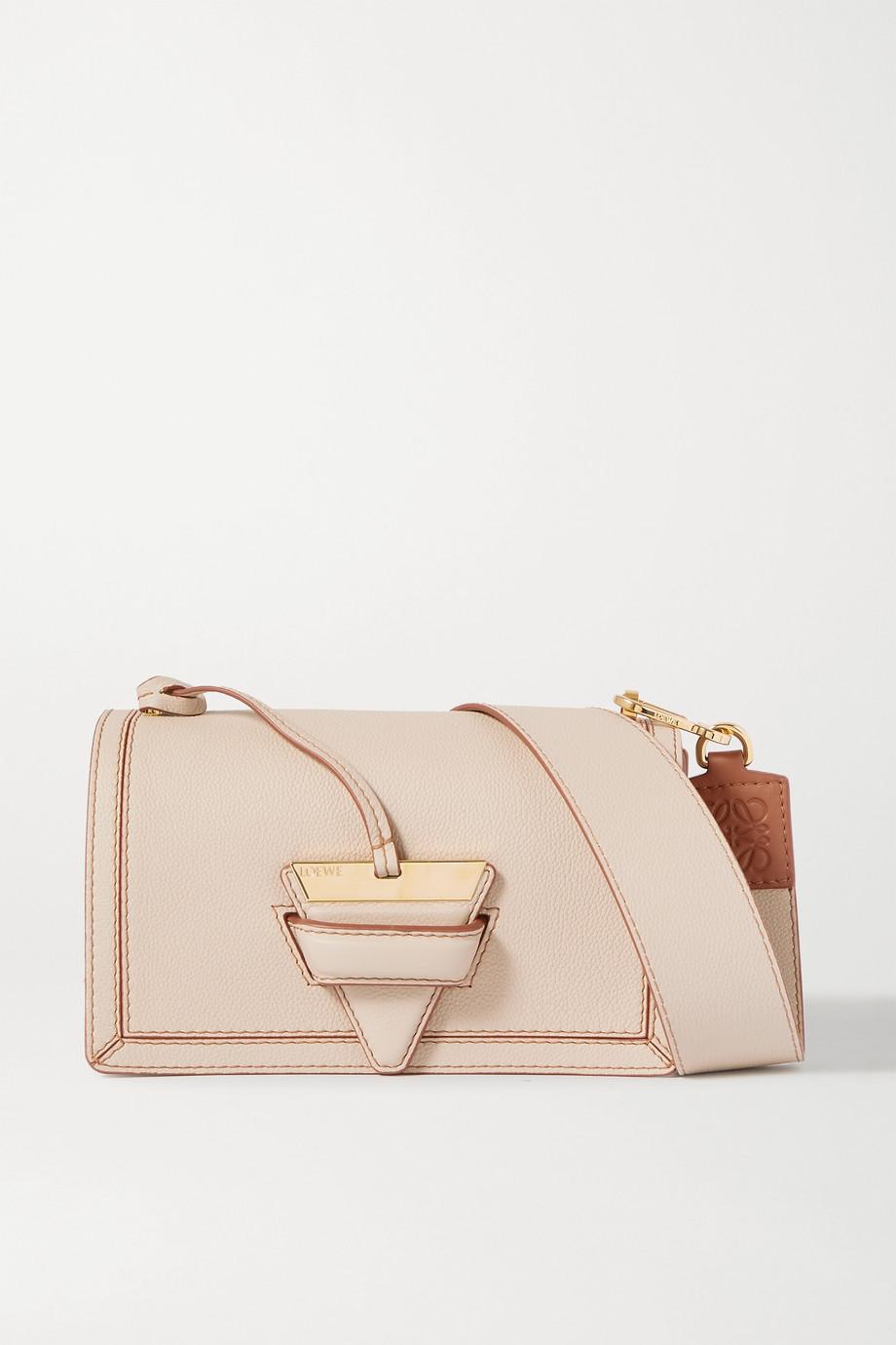 Loewe Barcelona textured-leather shoulder bag