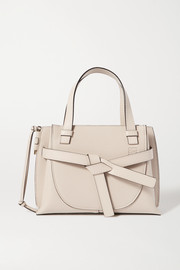 Loewe Gate mini textured-leather tote