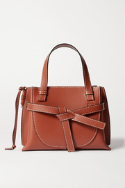 Loewe Sac à main en cuir à surpiqûres Gate Mini