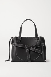 Loewe Gate mini topstiched leather tote