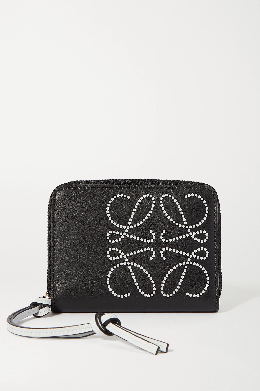 Loewe Printed textured-leather wallet