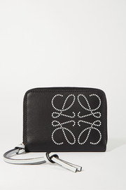 Loewe Printed textured-leather wallet