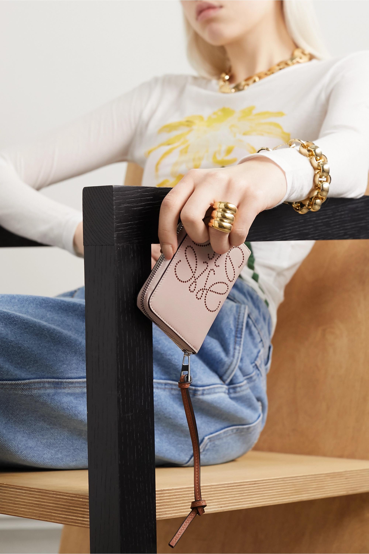Loewe Embossed leather wallet