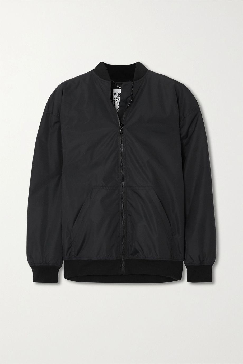 Moschino Teddy embellished shell bomber jacket