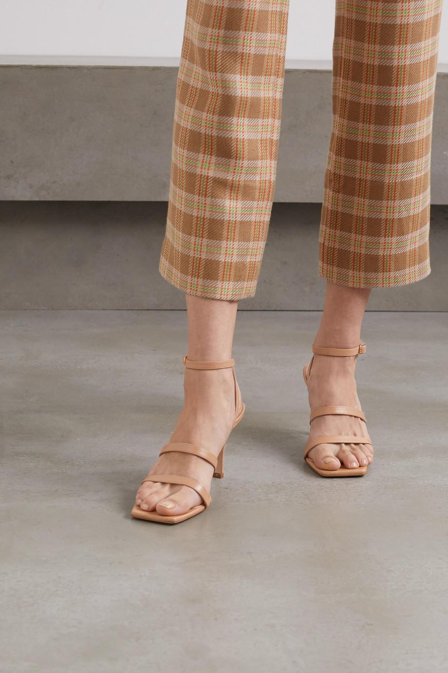 A.W.A.K.E. MODE Rebecca leather sandals