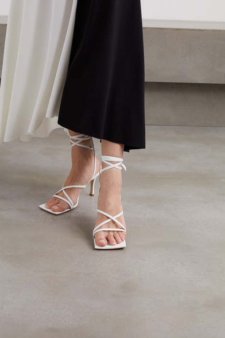 Ophelia leather sandals