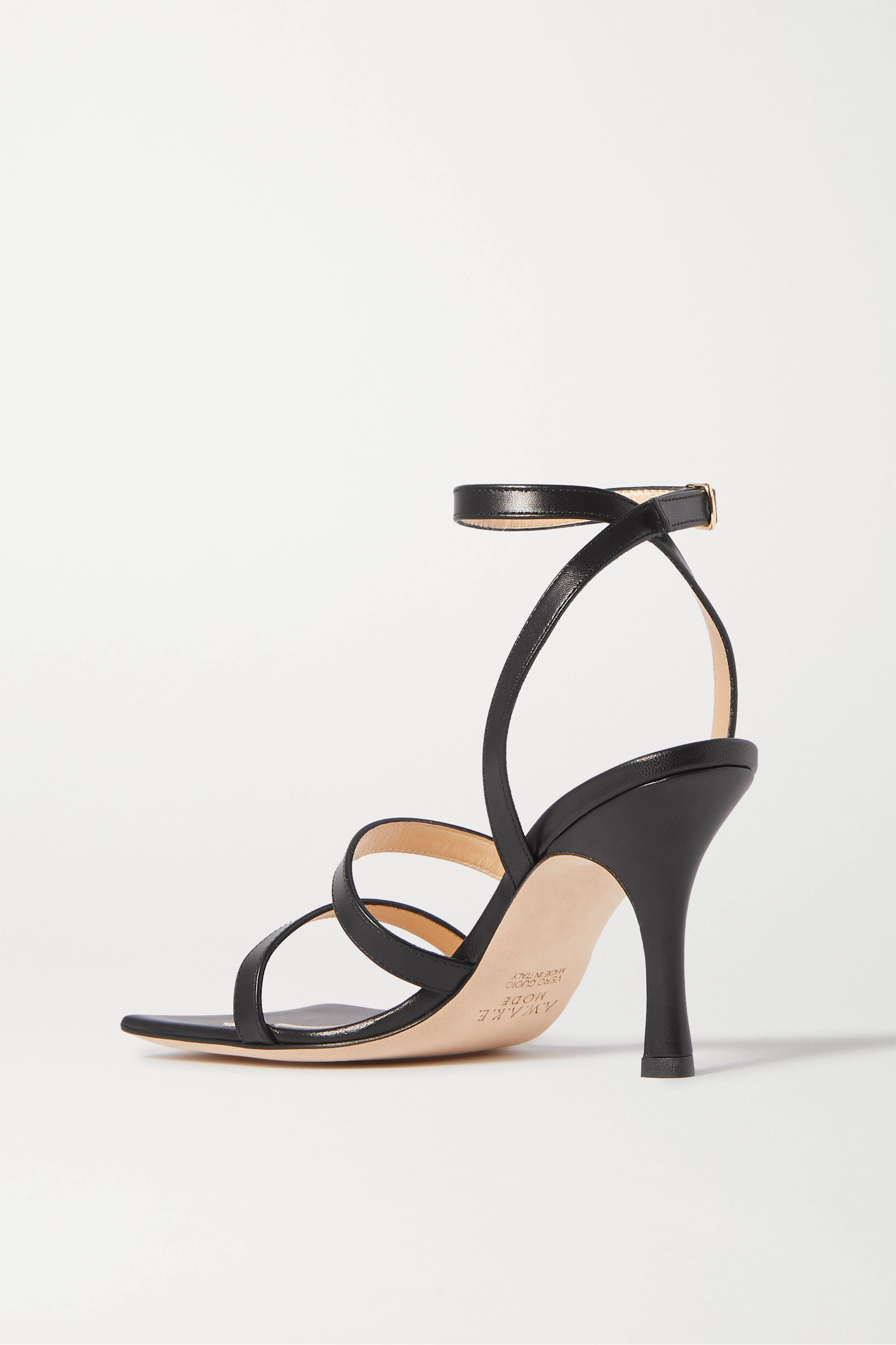A.W.A.K.E. MODE Rebecca leather sandals