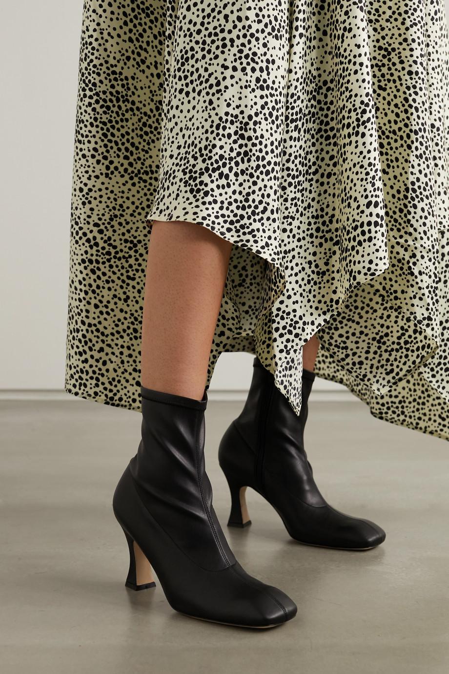 A.W.A.K.E. MODE New Priscilla PU ankle boots