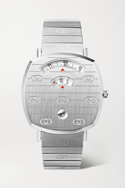 Gucci Grip 35mm stainless steel watch