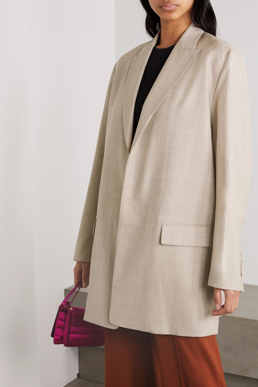 Roksanda Shida mélange wool and cashmere-blend blazer