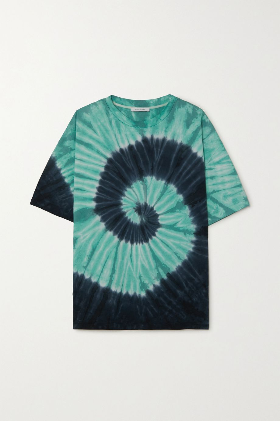 Ninety Percent + NET SUSTAIN tie-dyed organic cotton-jersey T-shirt